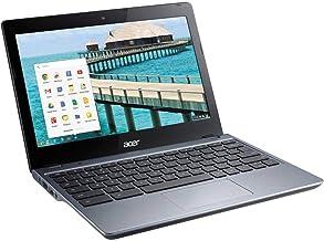 Acer C720P-2625 11.6-Inch Chromebook Intel 2955U 1.40GHz Dual Core 4GB-DDR3 16GB-SSD (Renewed)