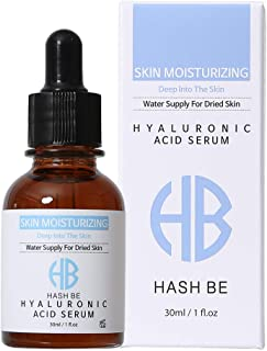 Pure 100% Hyaluronic Acid Serum Face Moisturizer for dry skin and Anti-Aging Wrinkles-Intense Hydration Cream Gel