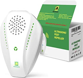 Sponsored Ad - Neatmaster Ultrasonic Pest Repeller Electronic Plug in Indoor Pest Repellent, Pest Control for Home, Office...