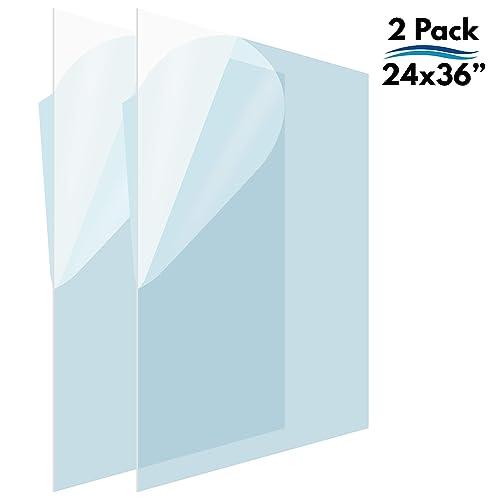 "Clear Lexan Polycarbonate Plastic Sheet Vacuum-Forming Window .125/"" x 36/"" x 48/"""