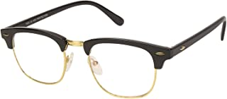 Arzonai ClubMaster Wayfarer Shape Black-Transparent UV Protection Sunglasses | Frame For Men & Women [MA-094-S6 ]