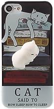 Case for ZTE ZMax Pro 2,Polar Bear Squishy Cat Chicken Finger Pinch 3D Silicone Relax Poke Squishy Toys Animals TPU Case for ZTE Blade Z Max/ZTE Sequoia Z982 Cat Sleep