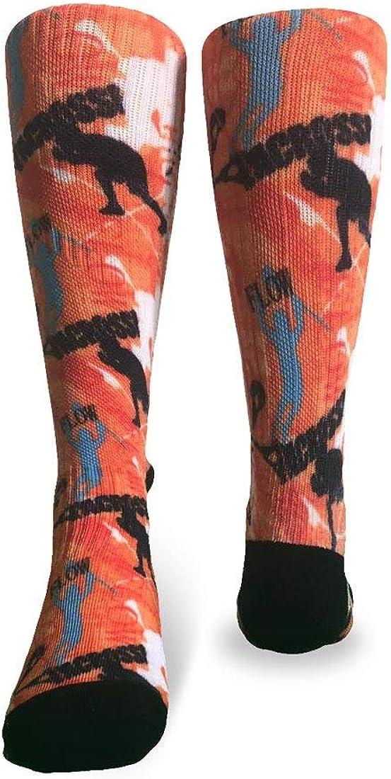 Flow Society Boys Socks, Lacrosse Boys Crew Socks, Sized for Ages 6-12 - Fun Socks for Boys - Silly Socks for Kids - Wacky Socks - Boy Socks