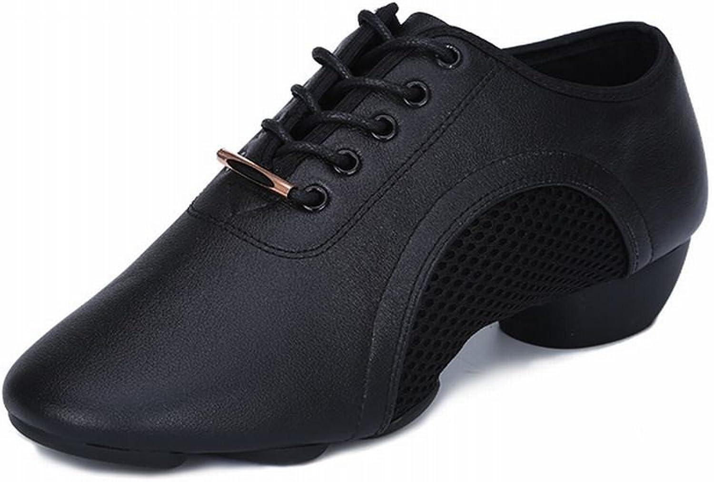 BYLE Leder Sandalen Riemchen Samba Modern Jazz Dance Schuhe Schuhe Weichen Boden Lehrer Schuhe Mann Dance Schuhe Square Dance Schuhe Tanz Schuh
