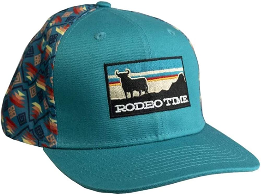 Dale Brisby Rodeo Time Sunset Flatbill Hat