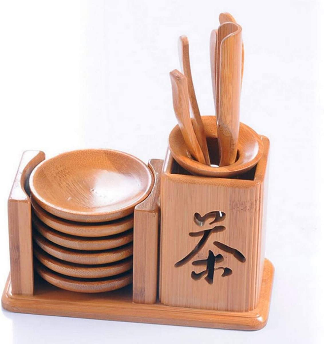 Techson Bamboo Tea Super beauty product restock quality top Tool Set Year-end annual account Gongfu Ceremony Chinese Accesso