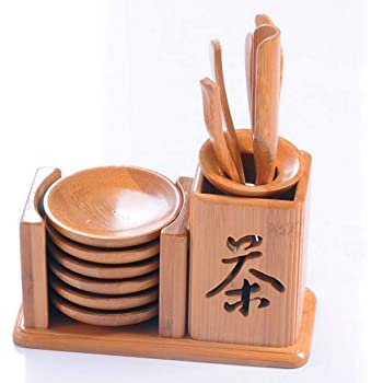 GAESHOW Six Sets Of Natural Tea Ceremony Trumpet New Kung Fu Tea Set Accessories Tea Bucket Tea Ceremony Kung Fu Tea