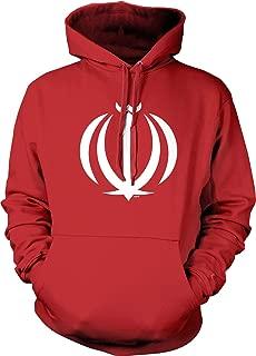 Iranian National Emblem, Allah Hooded Sweatshirt