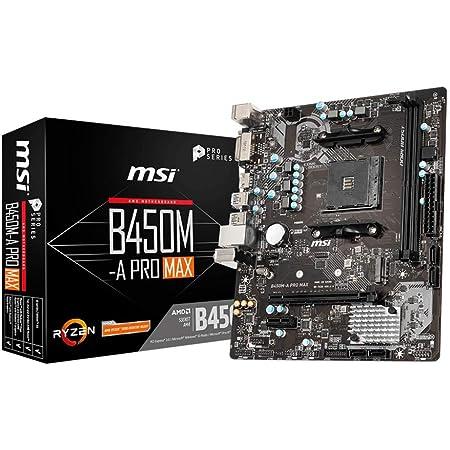 Msi B450m A Pro Max Amd Am4 Ddr4 M 2 Usb 3 2 Gen 2 Hdmi Computer Zubehör