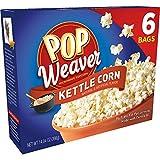 Pop Weaver Microwave Popcorn, Kettle Corn, 6-Count