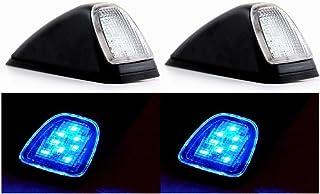 Blanco 4 Piezas 24//7Auto 4L0095W Luces Laterales de Marcador de Esquina Trasera de Techo 24/V para Remolque Cami/ón