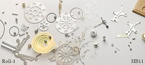 B  Stirling Technik Hei ft Stirling Modell Wissenschaftliches Spielzeug HB-PA-HB11-ROLL-1-kit, Bausatz, Natur