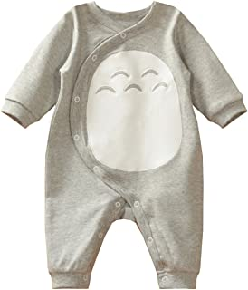 Es Unico Boys Bodysuits, Cotton One Piece Romper Outfit Baby Infant Grey