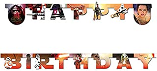 Unieke partij 72196 - 2.1m Star Wars 7 verjaardag banner