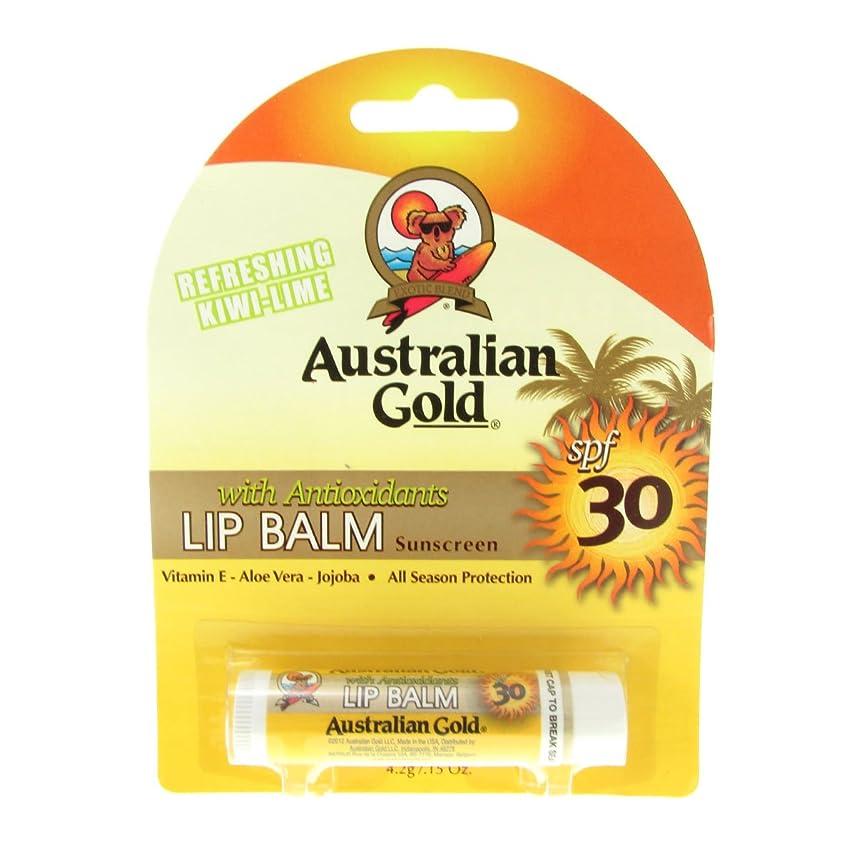 ビルマ周囲承知しましたAustralian Gold Lip Balm Spf30 4,2gr [並行輸入品]