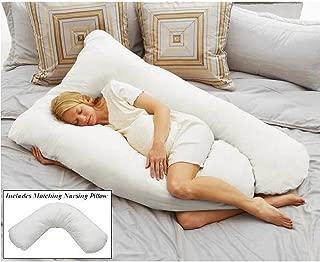 Pregnancy & Nursing Pillow Pack - White
