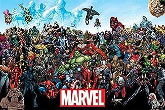 Marvel Universe comic poster 60 x 90 cm