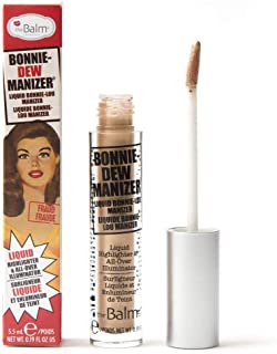 theBalm Bonnie-Dew Manizer Liquid Highlighter, All-Over Illuminator, Easily Blendable