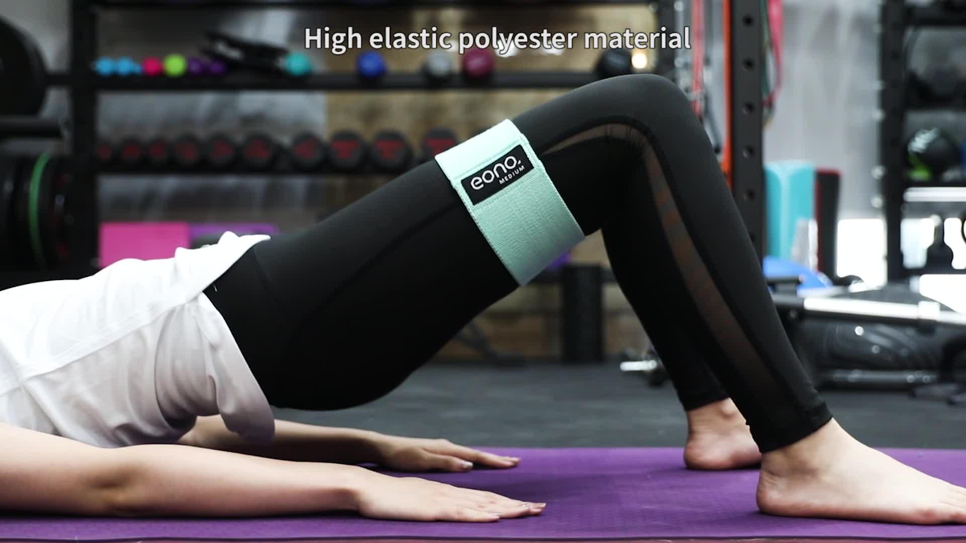 Xnuoyo Resistance Hip Bands 3 Pack Fitnessb/änder Widerstandsb/änder krafttraining Resistance Band Set Bestes Widerstandsb/änder Krafttraining f/ürs H/üften Beintraining Pilates Yoga