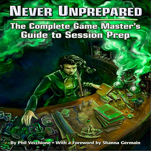Never Unprepared Audiobook By Phil Vecchione cover art