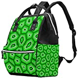 laire Daniel Hand Drawn Doodle Turtle Shell Mummy Backpack Multi-Function Diaper Bag for Baby Care...