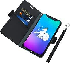 DefenderShield EMF Radiation Case Compatible with Samsung Galaxy S9 Plus - Detachable Magnetic Anti Radiation Shield & RFID Blocker Wallet Case w/Wrist Strap - Galaxy S9 Plus Radiation Protection