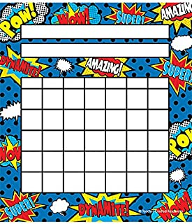 Teacher Created Resources Superhero Incentive Charts Pack (5646)