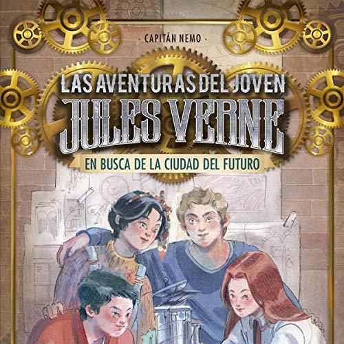 Diseño de la portada del título En busca de la ciudad del futuro