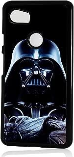 (for Google Pixel 3 XL) Black Frame Back Case Cover - HOT0125 Starwars Darth Vader