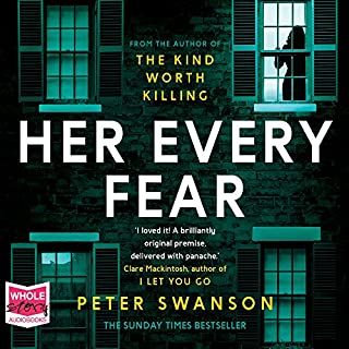 Her Every Fear                   By:                                                                                                                                 Peter Swanson                               Narrated by:                                                                                                                                 Juliette Burton                      Length: 13 hrs and 1 min     112 ratings     Overall 4.1