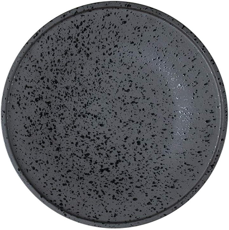 Oneriverspbague40 Assiettes Céramique Grande Assiette Vaisselle Assiette Plate (Couleur   25cm plate)
