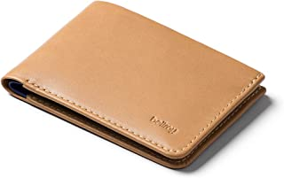 Bellroy Low Wallet, Slim Leather Wallet (Max. 12 Cards and Flat Bills) - Tan