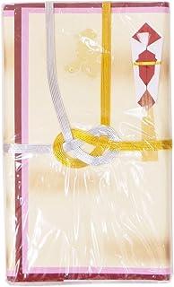 シノコマ 祝儀袋 夫婦紙 金雲 金封赤白3枚入 赤 5冊パック ミヨ11-R35