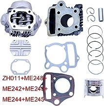 FLYPIG Performance Cylinder Head&Piston Cylinder Rebuild Repair Kit for Honda ATC70 C70 CT70 TRX70 90 CRF70 XR70 S65 70CC CL70 XL70 SL70 Roketa Kazuma 70cc ATV Dirt Bike Go Kart
