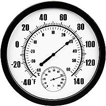 NA YAJJA Casa Grande Pantalla del termómetro de Interior de Alta precisión de Temperatura higrómetro Farmacia almacén de Laboratorio termómetro Industrial