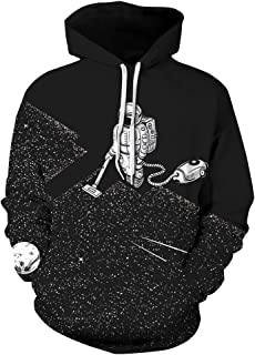 Best spaceman vacuuming stars hoodie Reviews