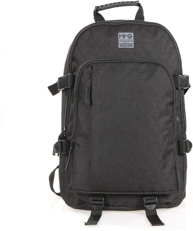 Studenten Backpack Junior High School Student High School College-Stil Trendige Studententasche schwarz MR101025
