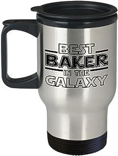 Best Baker in the Galaxy, Baker Travel Mug for Tea or Coffee, Fan-inspired Star Wars Baker Gift