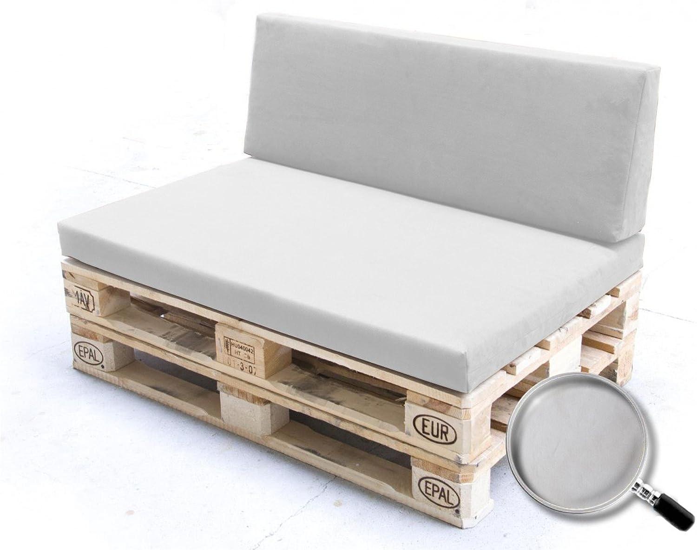 Manufaktur Schaumstoffe Wegerich Palettenkissen Parent Set Sitzpolster + Rückenpolster
