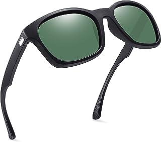 Joopin Gafas de Sol Hombre y Mujer Polarizadas Clásicas con Protección UV Retro Vintage Gafas de Sol Cuadradas para Conduc...