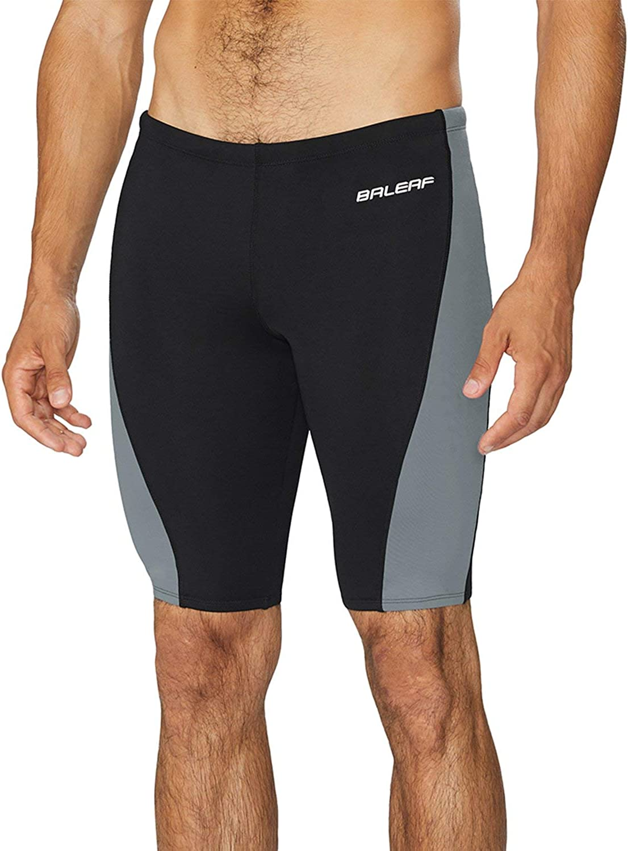 Mail order BALEAF Men's Swim Jammers Athletic Training Tea Max 60% OFF Swimsuit Durable