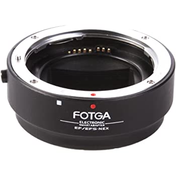 Fotga Lens Mount Adapter for Canon EOS EF EF-S Mount Lens to Sony E-Mount NEX-5N NEX-5R NEX5T NEX6 NEX7 NEX-F3 A6000 A6100 A6300 A6400 A6500 A6600 A5000 A3500 A3000 Alpha A7 A7R A7S II III A9 Camera