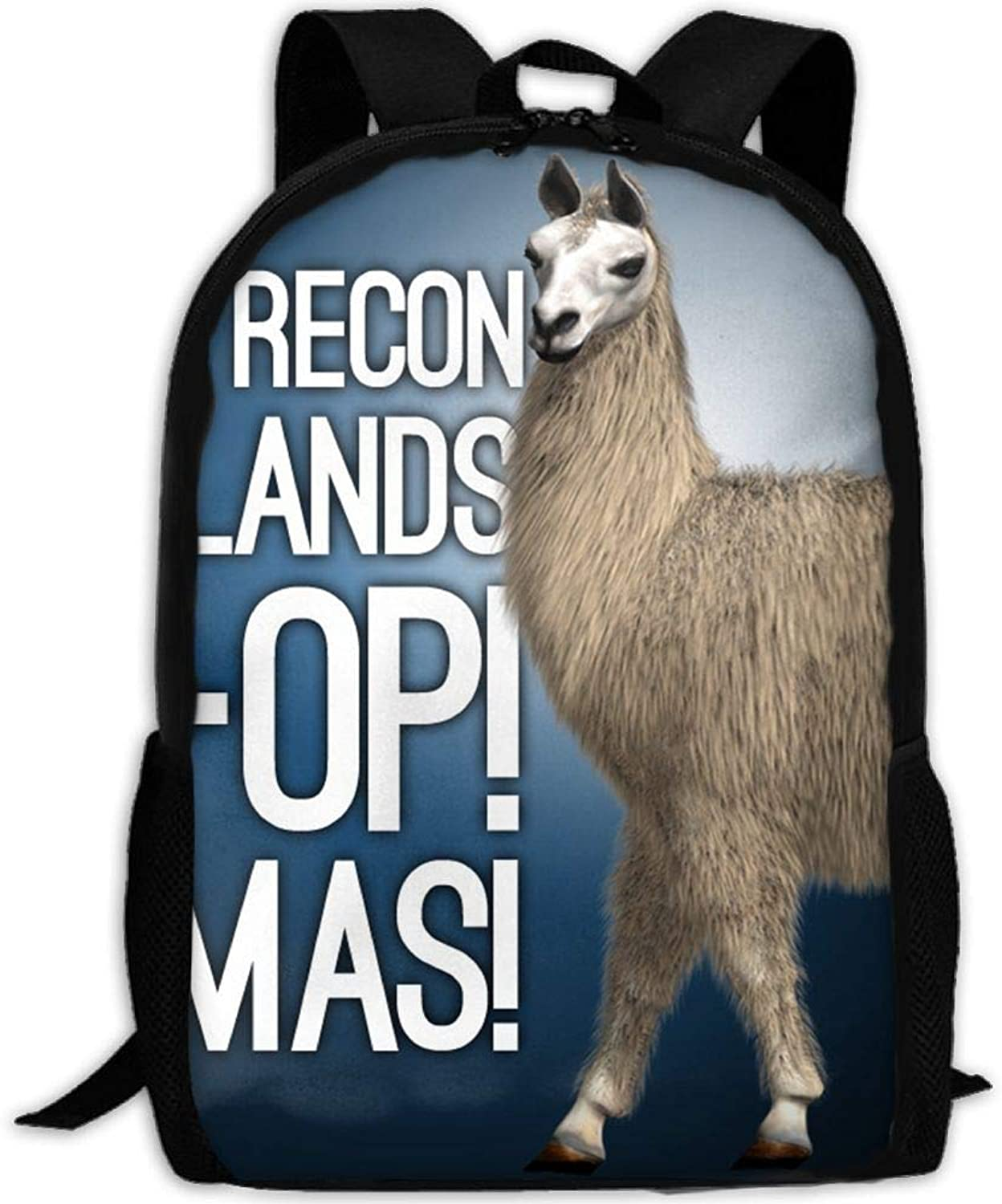 Student Backpack, Backpack, Backpack, School Backpack for Laptop,Most Durable Lightweight Cute Travel Water Resistant School Backpack - Cute Llama Alpaca B07PSFLYGS  Wertvolle Boutique 0e55e4