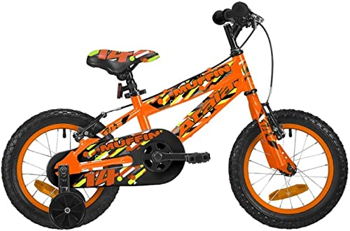 Atala Kinderfahrrad Muffin 14 Zoll Orange Fluo
