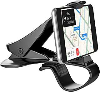 Car Phone Holder, Zylee Dashboard Car Phone Mount Phone Holder Cell Phone Clip for Car Dashboard Compatible with iPhone XS/XS MAX/XR/X/8/8Plus/7/7Plus/6s Galaxy S10/S9/S8/S7/Note 9 Google Pixel