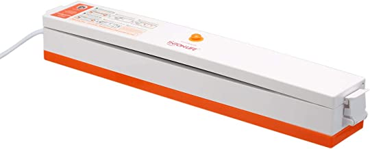 KKmoon Máquina de embalagem a vácuo com seladora 220V / 110V para alimentos domésticos, seladora a vácuo, embaladora a vác...