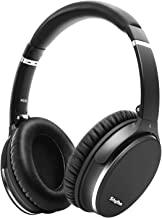 Noise Cancelling Headphones Wireless Bluetooth 5.0,Fast Charge Over-Ear Lightweight Srhythm NC35 Headset with Microphones,Mega Bass 40+ Hours' Playtime -Low Latency