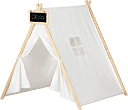 South Shore Sweedi Organic Cotton and Pine Play Tent with Chalkboard