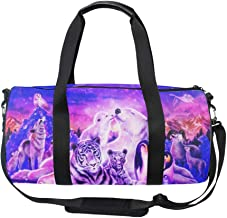 Weekend Travel Bag Ladies Tiger Forest In India Duffle Tote Bags Overnight Bag