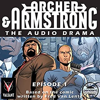 Archer & Armstrong #1 audiobook cover art